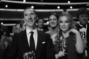 The Bafta winning lead actor and actress, Benedict Cumberbatch and Jodie Comer