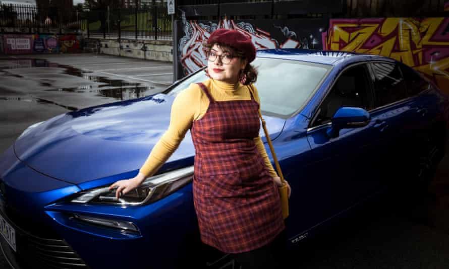 Guardian reporter Matilda Boseley test drove the new Toyota hydrogen powered car