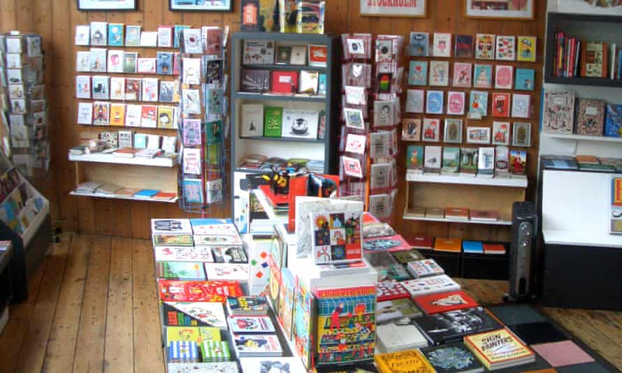 Here bookshop and exhibition space, Bristol, UK