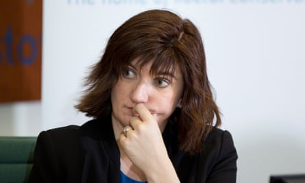 Minister for women and equalities, Nicky Morgan.