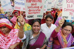 Bangladesh Workers' rights was a key theme in Dhaka