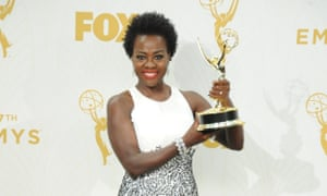 Viola Davis made history at the 67th Emmy awards.