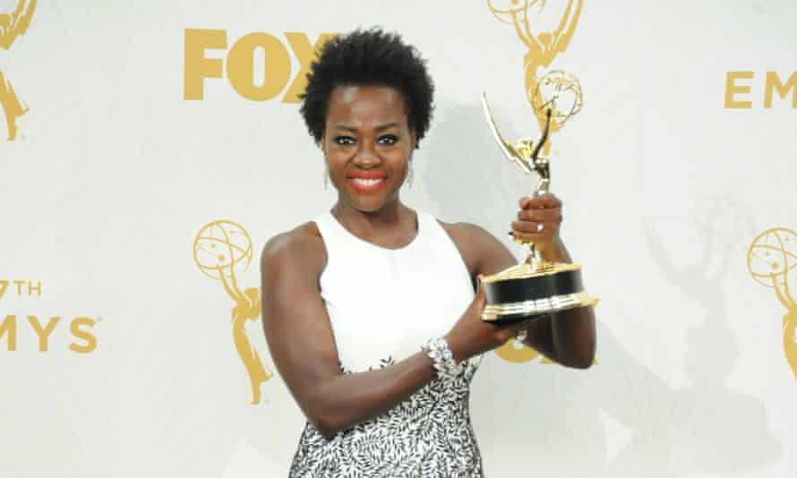 Viola Davis made history at the 67th Emmy awards.