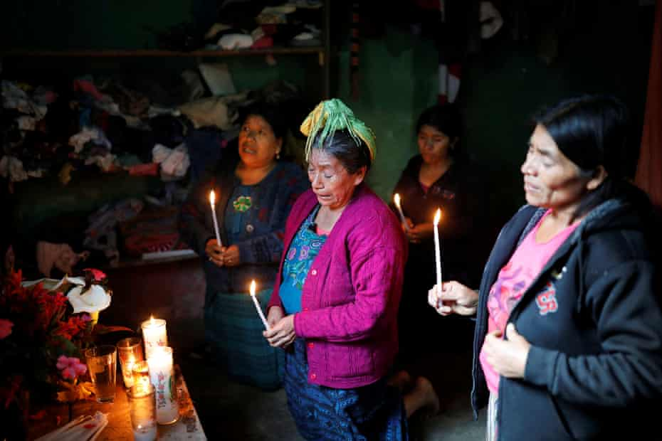 Catarina Perez, the grandmother of Felipe Gómez, the second Guatemalan child to die in US custody this month.