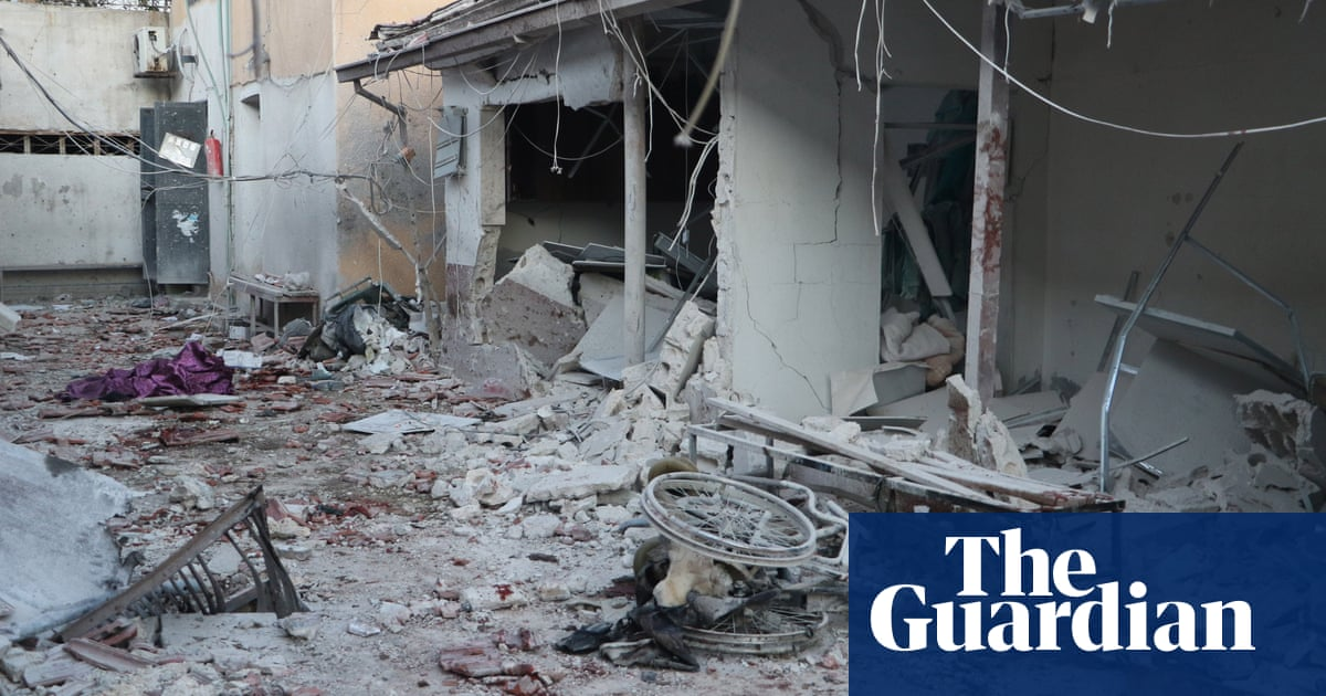 At least 18 die as hospital hit in shelling of Syrian city