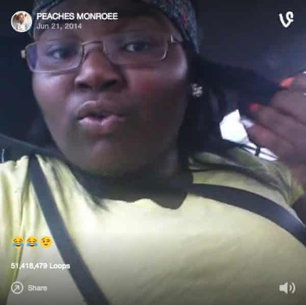 Eyebrows on fleek: the original Vine by Peaches Monroee.