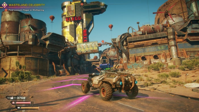 Rage 2 review – scintillating action in a trite wasteland