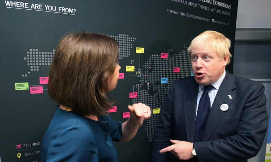 Boris Johnson said Ireland shouldn't worry too much about the border during his visit to Dublin.