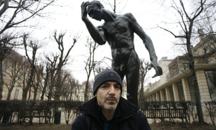 Russell Maliphant photographed at the Rodin Museum in Paris.