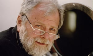 Lucian Pintilie at the Cannes film festival in 1994.