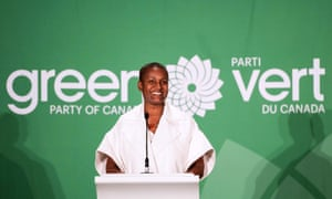 Annamie Paul said at a news conference in Ottawa her victory 'is highly symbolic and highly important that I sit here today'.