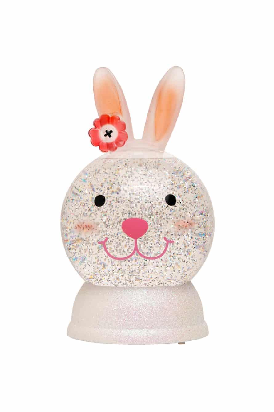 A bunny snowball.