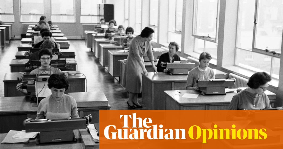 Men now avoid women at work – another sign we're being