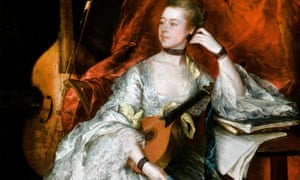 Thomas Gainsborough's portrait of Ann Ford (1760) … James Hamilton's biography of the artist finds double entendres in his pictures. Photograph: Alamy