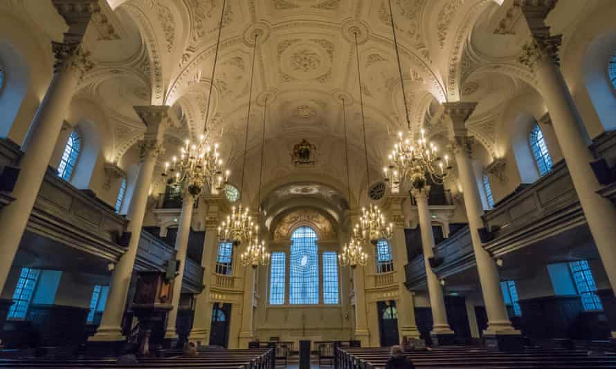 St Martin-in-the-Fields, London.