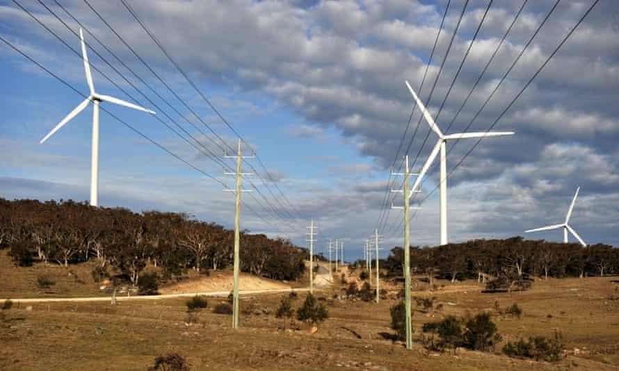 windfarm NSW