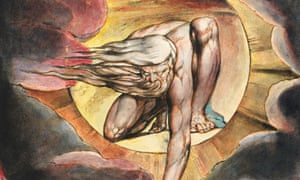A detail from The Ancient of Days (1827) by William Blake.