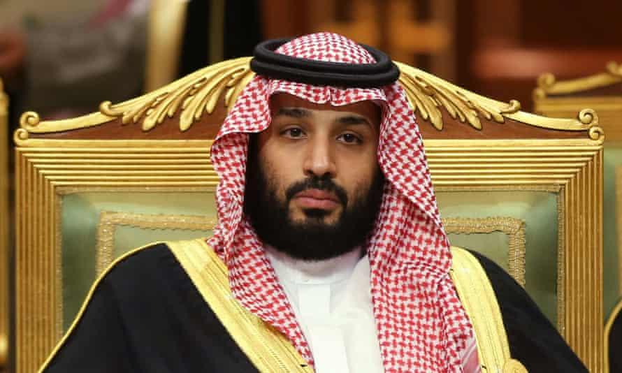 Prince Mohammed bin Salman.