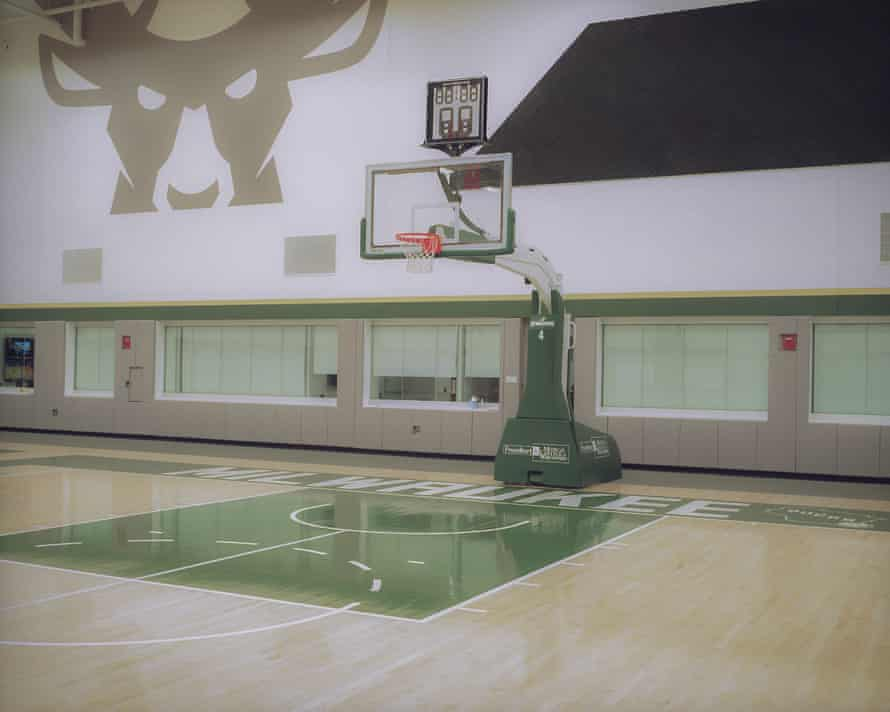 The Bucks new state of the art practice facitilty is adjacent to their brand new stadium in downtown Milwaukee.