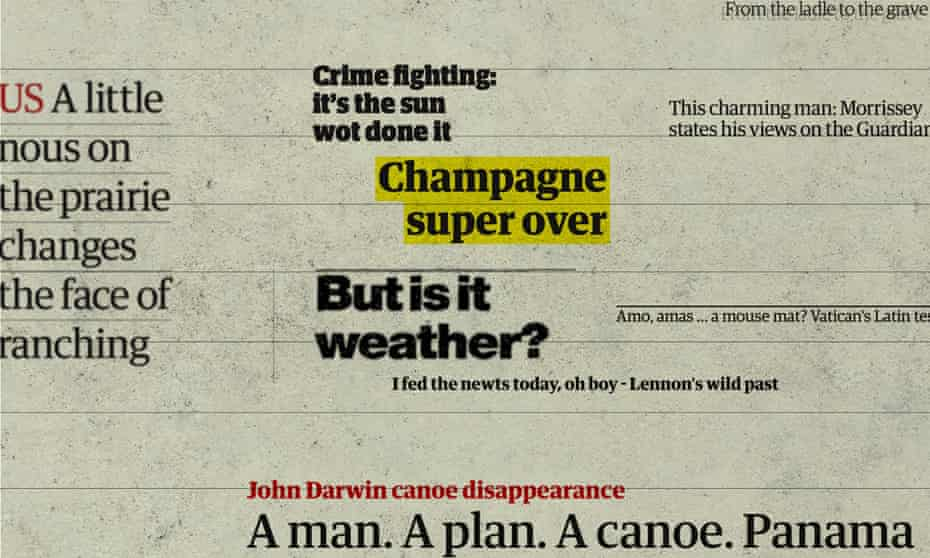 Making a splash: the best – and funniest – Guardian headlines over 200 years