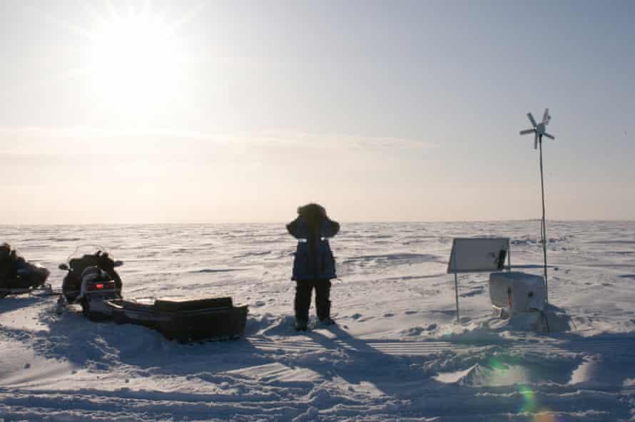 PBI's BJ Kirschhoffer at an Alaska den study.