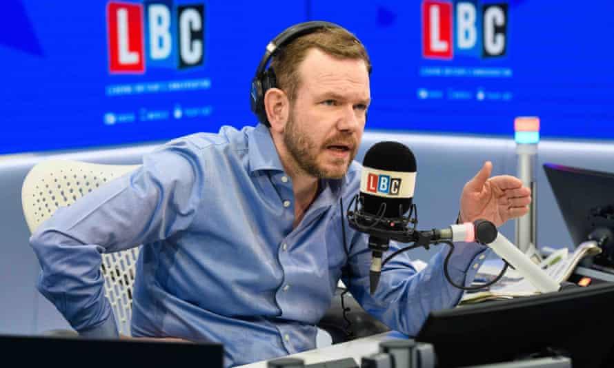 James O'Brien on air at LBC