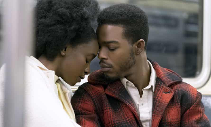 Bonds… Stephan James and KiKi Layne in If Beale Street Could Talk.