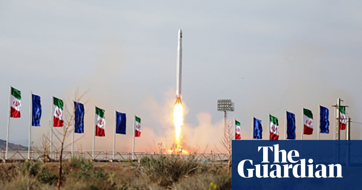 Iran reportedly launches first military satellite as Trump makes threats