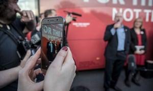 Jeremy Corbyn speaks at a rally in Sheffield.