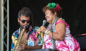Dona Onete at Walthamstow Garden Party 2018.