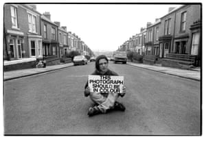 Artist Jeremy Deller wanted to be photographed in a Coronation Street setting.
