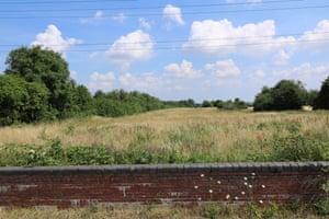 Haverhill rail line with blue skies ahead