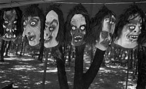 Masks, Mexico City, 1997