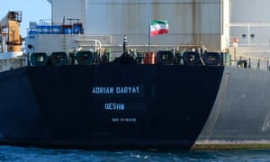 Since its release from Gibraltar, the Adrian Darya has been bouncing around the Mediterranean, its every move followed.