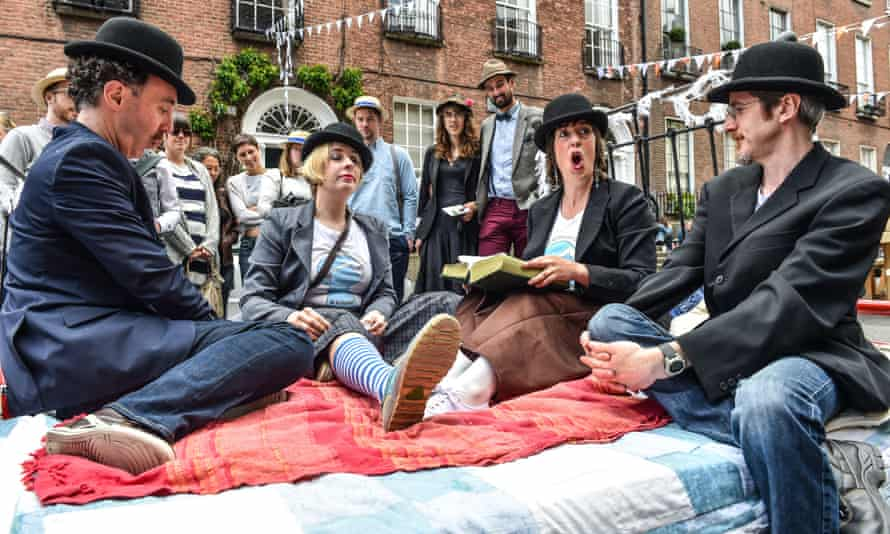 Bloomsday celebrations in Dublin, 2015