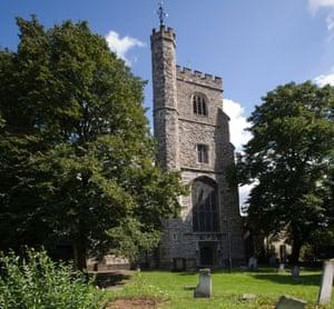 St Margaret's parish church in Barking