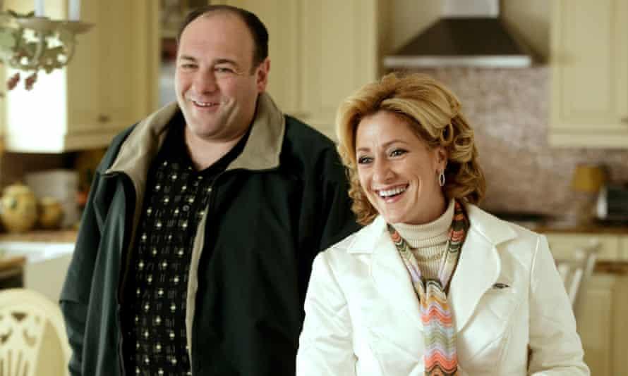 Family plots ... Tony and Carmela Soprano.