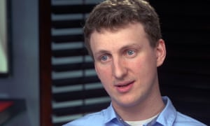 Aleksandr Kogan on 60 Minutes, where he apologized for his role in the data harvesting.
