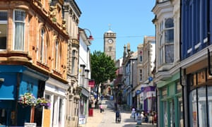 Redruth in Cornwall.