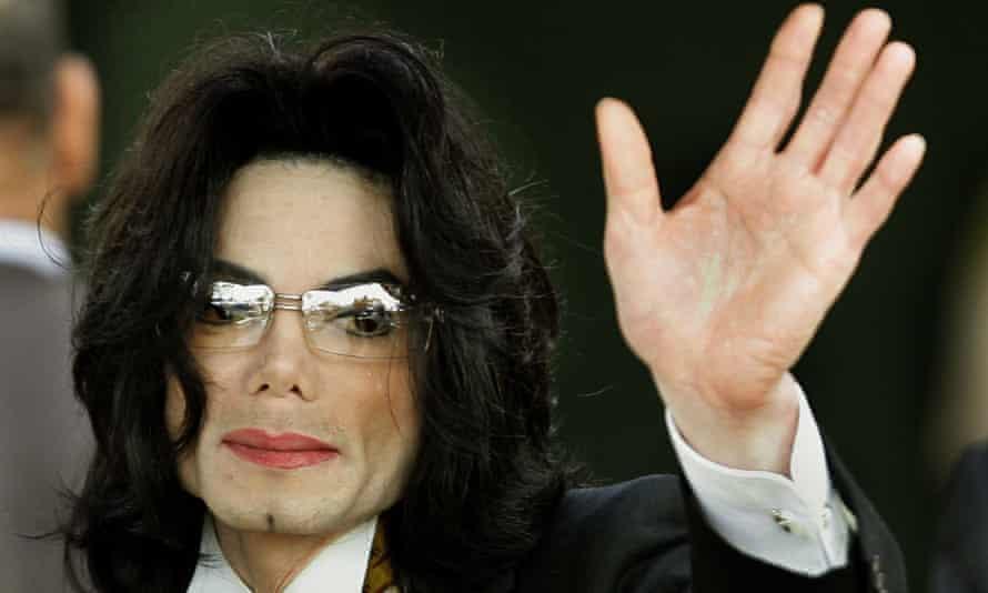 Michael Jackson in California in 2005
