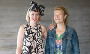 Director Bryony Kimmings and Judith Dimant, Complicite producer and breast cancer survivor, at the National Theatre.