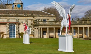 Myth, 2010, and Legend, 2011, at Houghton Hall, Norfolk.
