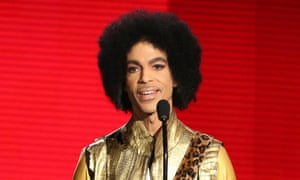 'If Prince's death helps save lives, then all was not lost' ... Prince pictured at the American Music awards in 2015.