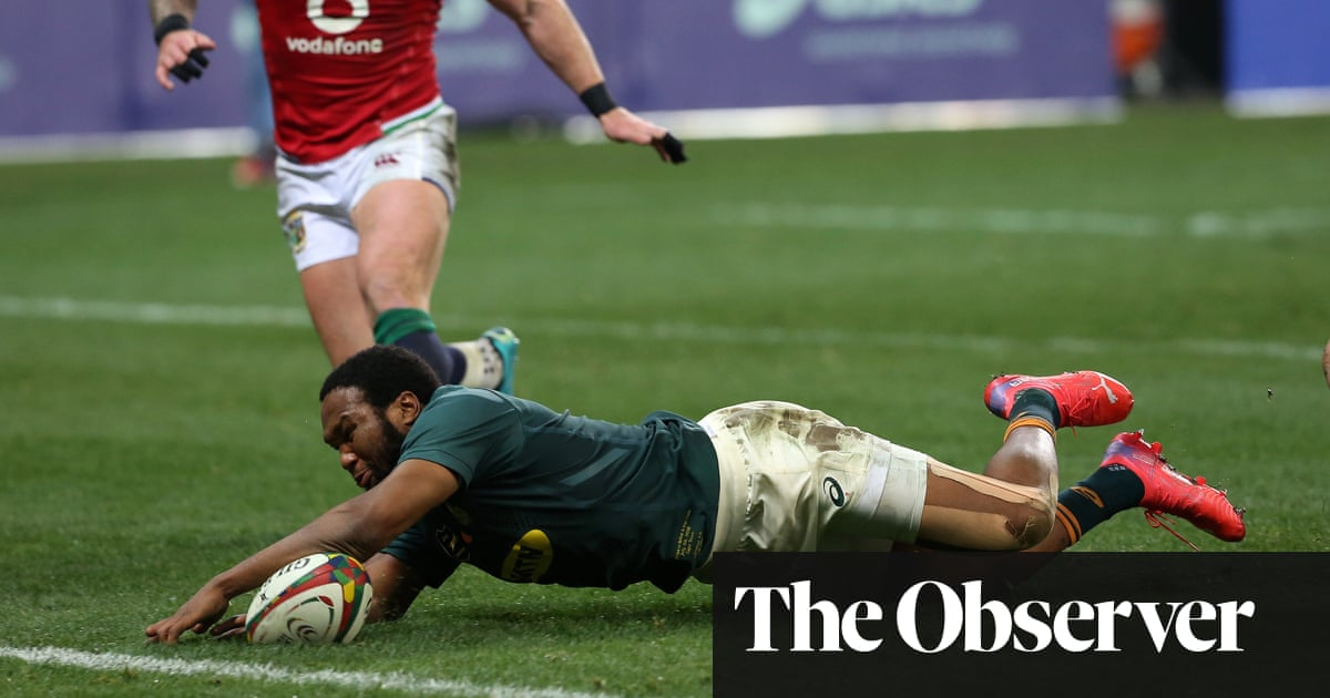 Lukhanyo Am seals South Africa victory on painful night for British & Irish Lions