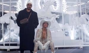 Umar Kamani with Jennifer Lopez