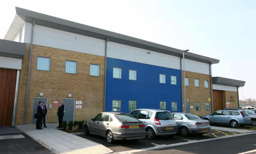 Brook House immigration removal centre in West Sussex