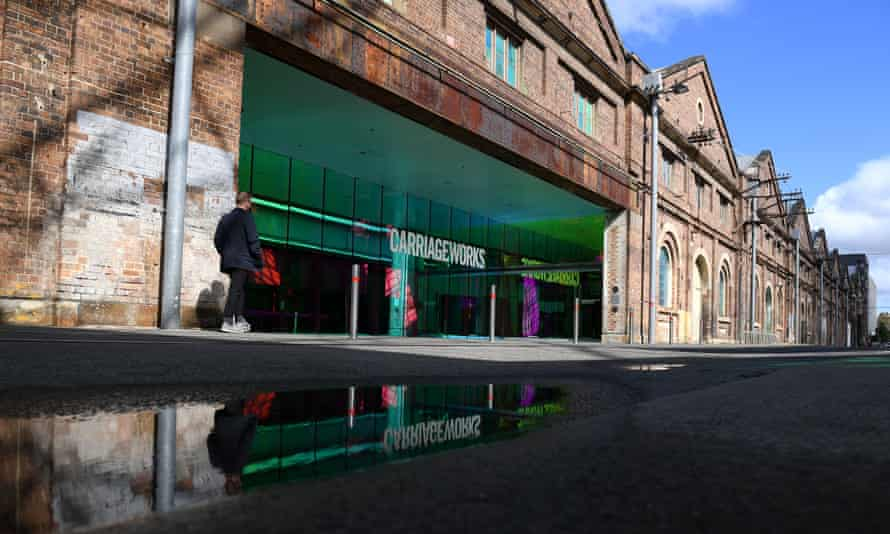 The Carriageworks arts precinct in Sydney.