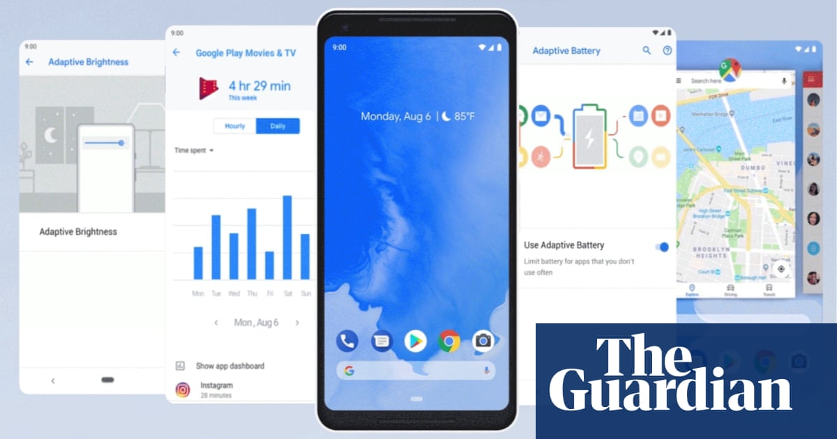 Android 9 Pie: everything you need to know | Technology | The Guardian