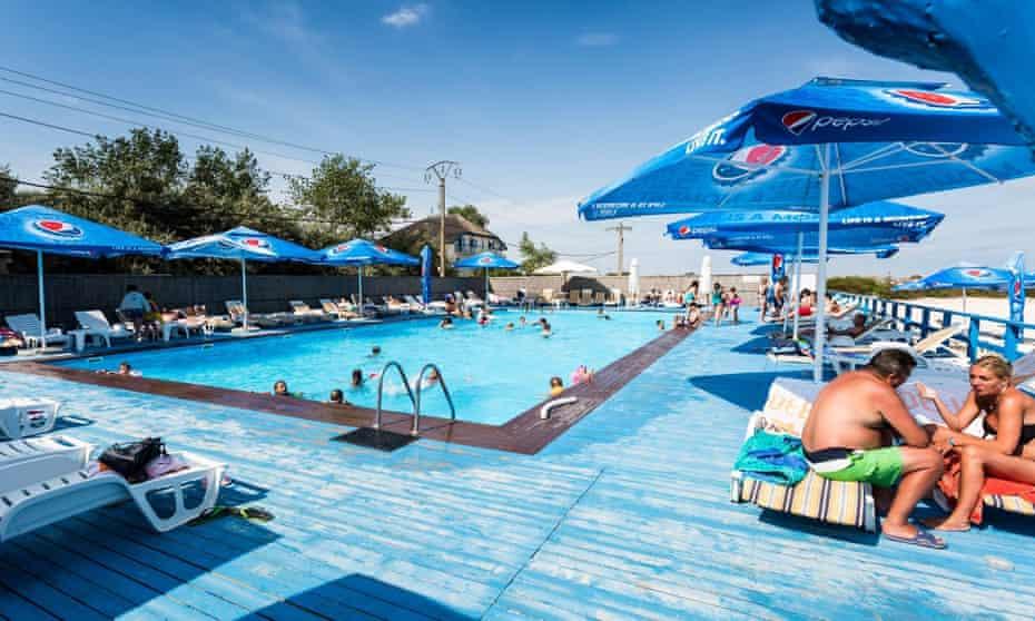 Pool at Gura Portitei