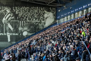 West Bromwich, England A photograph of Cyrille Regis adorns The Hawthorns